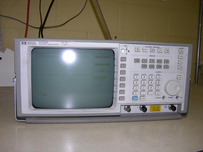 Hp Digital Oscilloscope : Digital oscilloscope